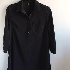 Forever 21 Black Shirtdress